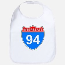 Interstate 94<BR> Baby Bib