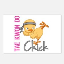 Tae Kwon Do Chick 2 Postcards (Package of 8)