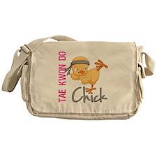 Tae Kwon Do Chick 2 Messenger Bag