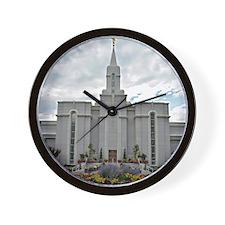 Bountiful Temple Wall Clock