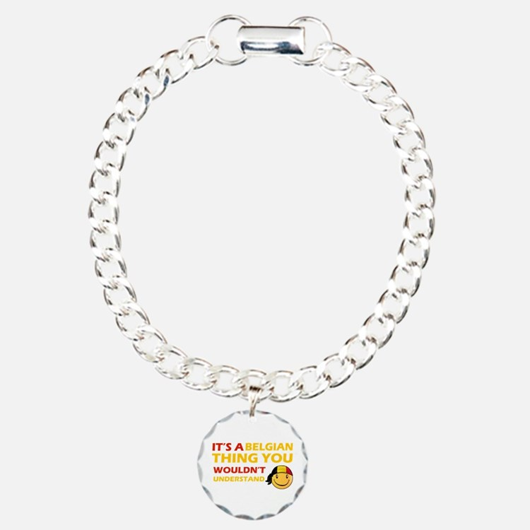 Belgian smiley designs Bracelet