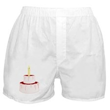 Cake With Candle Boxer Shorts