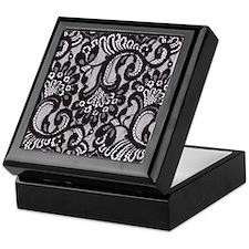 Black Lace Keepsake Box