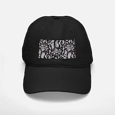 Black Lace Baseball Hat