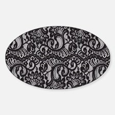 Black Lace Decal