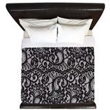 Lace Luxe King Duvet Cover