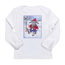 rabbit holiday apparel Long Sleeve T-Shirt