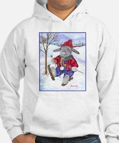 rabbit holiday apparel Hoodie