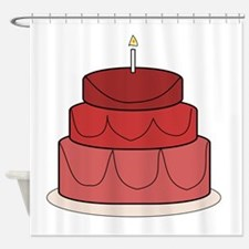 Layered Cake Shower Curtain