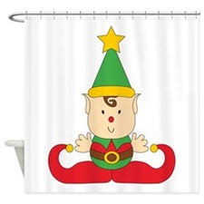 Dudley the Elf Shower Curtain