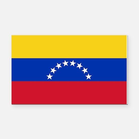 Venezuela Flag Rectangle Car Magnet