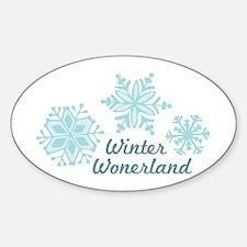 Winter Wonderland Decal