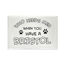 Bristol cat design Rectangle Magnet (100 pack)