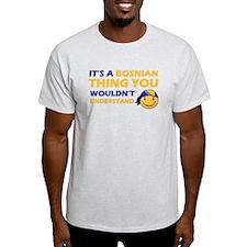 Bosnian smiley designs T-Shirt