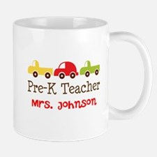 Personalized Preschool Teacher Mugs