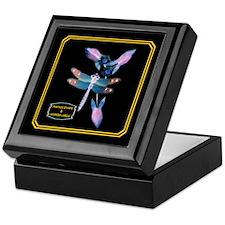 Keepsake Box--DRAGONFLY(Stamps)