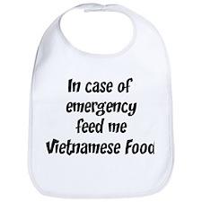 Feed me Vietnamese Food Bib