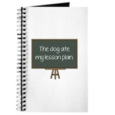 The Dog Ate My Lesson Plan Journal