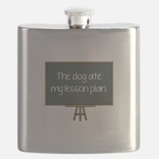 The Dog Ate My Lesson Plan Flask