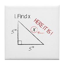Find X Tile Coaster
