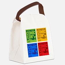 Unique Comic Canvas Lunch Bag
