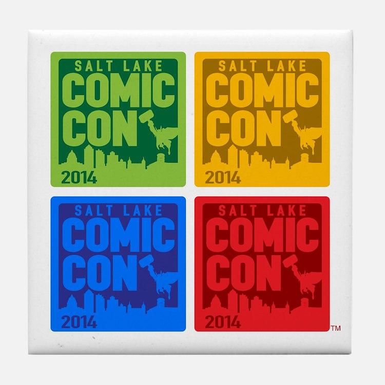 Cute Comic Tile Coaster