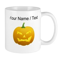 Custom Scary Jackolantern Mugs