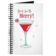 Drink And Be Merry Journal