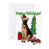 German shepard Greeting Cards