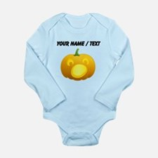 Custom Surprised Jackolantern Body Suit