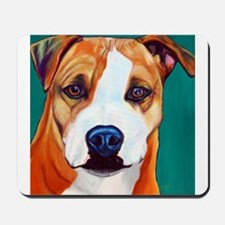 Pit Bull-What a Face... Mousepad