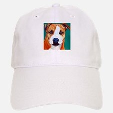 Pit Bull-What a Face... Baseball Baseball Cap