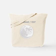 Custom Full Moon Tote Bag