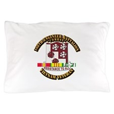 Army - 168th Engineer Bn w SVC Ribbon Pillow Case
