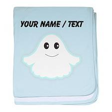 Custom Cartoon Ghost baby blanket