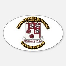 Army - 168th Engineer Bn Decal
