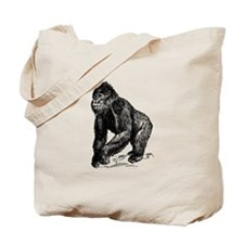 Gorilla Sketch Tote Bag