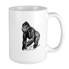 Gorilla Sketch Mugs