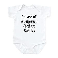 Feed me Kabobs Infant Bodysuit
