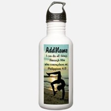 BLESSED GYMNAST Water Bottle