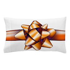 Gold Bow Pillow Case