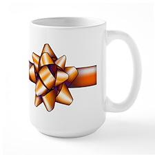 Gold Bow Mug