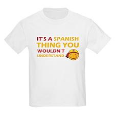 Spanish smiley designs T-Shirt