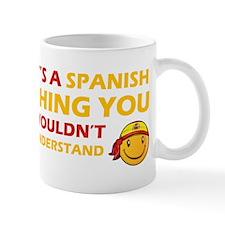 Spanish smiley designs Mug
