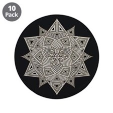 Rangoli 3.5&Quot; Button (10 Pack)