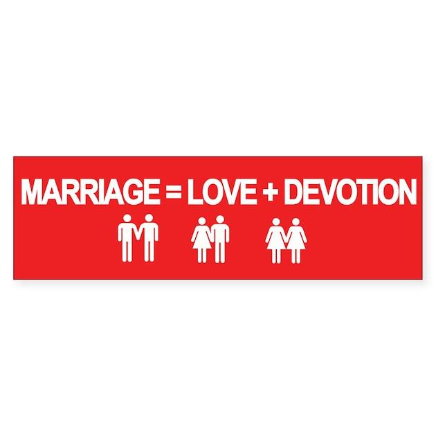 MARRIAGE = LOVE + DEVO...