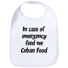 Feed me Cuban Food Bib