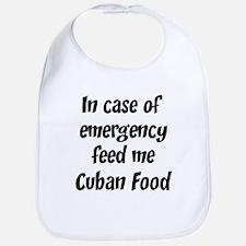 Feed me Cuban Food Bib