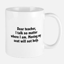Dear Teacher Mug