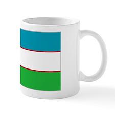 Uzbekistan Flag Mug